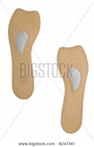 Leather Insoles | Isolated