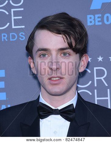 LOS ANGELES - JAN 16:  Matthew Beard arrives to the Critics' Choice Awards 2015  on January 16, 2015 in Hollywood, CA