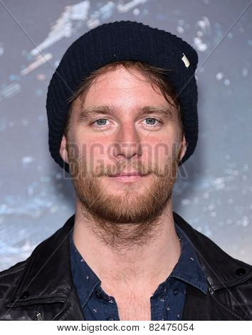 LOS ANGELES - FEB 02:  Jake McDorman arrives to the