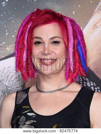 LOS ANGELES - FEB 02:  Lana Wachowski arrives to the