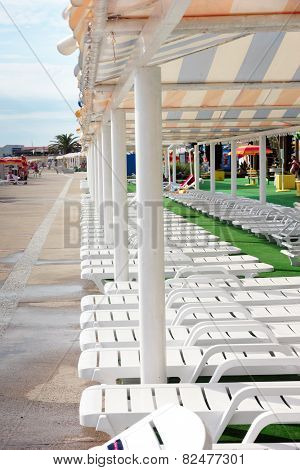 deck-chairs