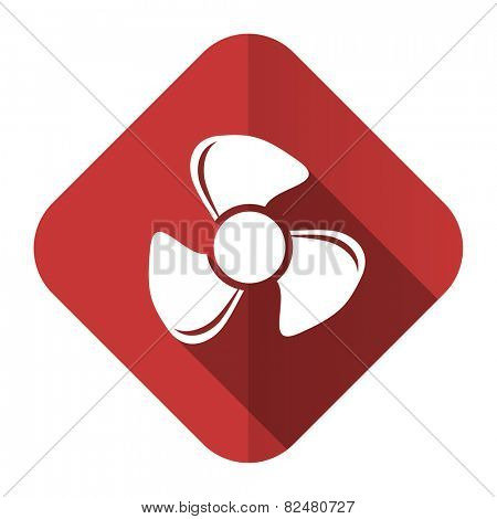 fan flat icon