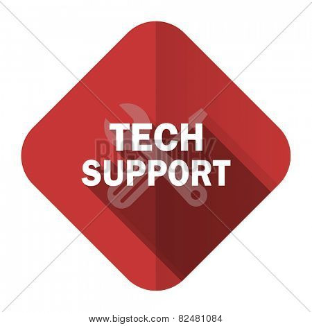 technical support flat icon