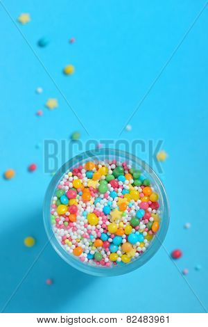 Colorful Sprinkles for Dessert Decorating