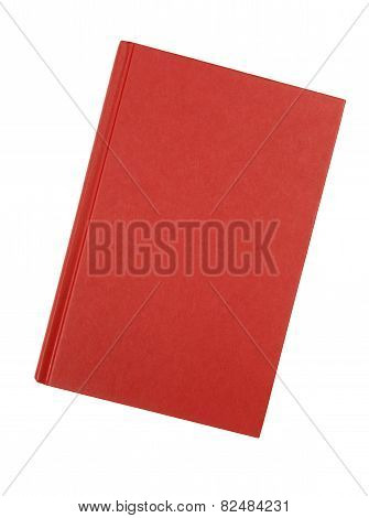 Plain Red Hardback Book