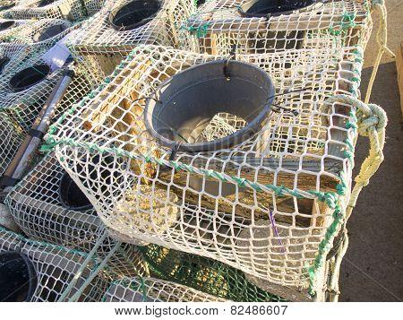 Fishing Creels Closeup