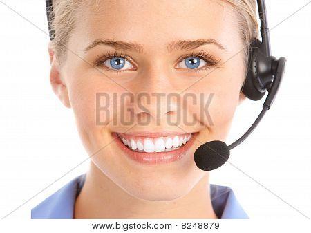 Operador de Call Center.