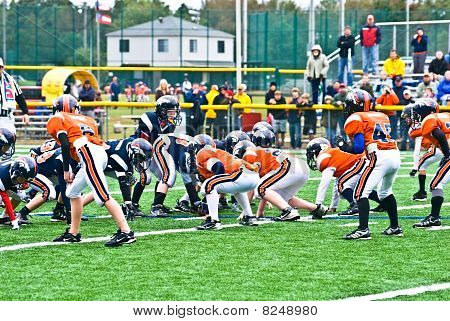 Little League Football Scrimmage Line