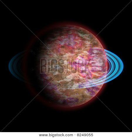 3D Planet Graphic