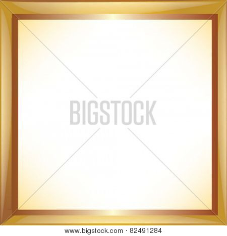 Frame with a pattern. Vector illustration