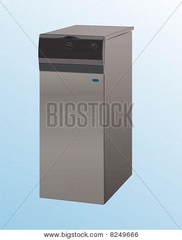 boiler for heating water
