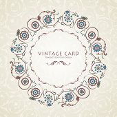 pic of ottoman  - Vintage Background Traditional Ottoman motifs - JPG
