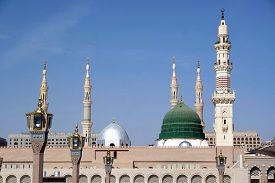 picture of prophets  - Masjid Al Nabawi or Nabawi Mosque  - JPG