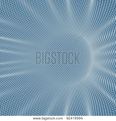 3d abstract background. Technology vector illustration. Can be used for banner, flyer, book cover, poster, web banners.