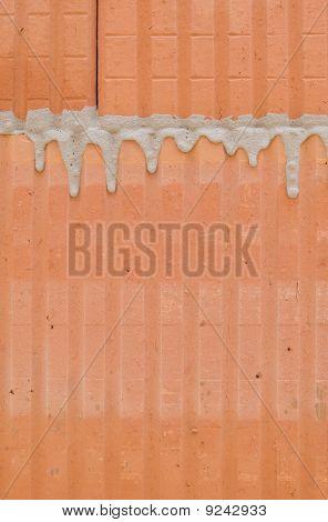 Hollow brick masonry