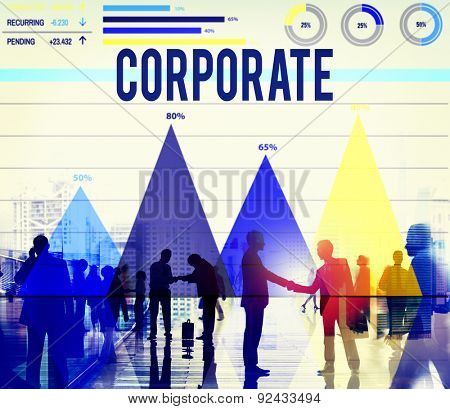 Corporate Cooperation Collaboration Commitment Team Concept