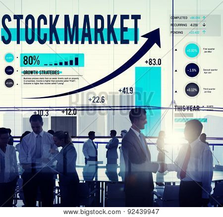 Stock Market Stock Exchange Trade Digital Concept