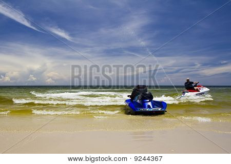 High-speed Water Jetski
