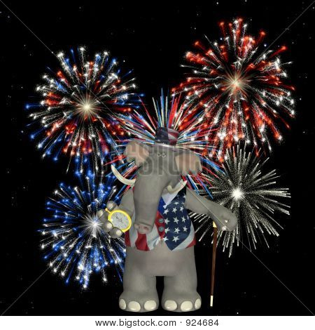 Political Elephant - Fireworks