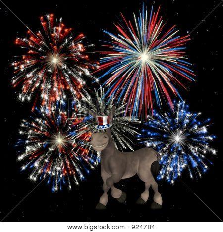 Political Doneky - Fireworks