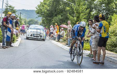 The Cyclist Tiago Machado - Tour De France 2014