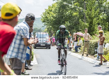 The Cyclist Kevin Reza - Tour De France 2014