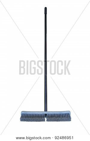 Floor squeegee isolated on white background, Close up cleaning set for used in home.