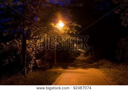 Walk at night