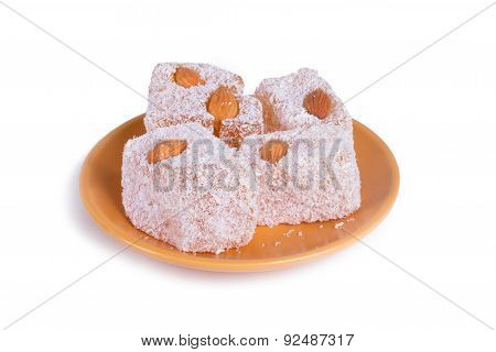 Turkish Delight In Bowl