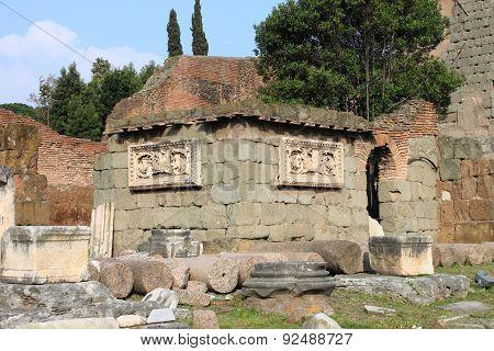 Ruins of the Emilia Basilica