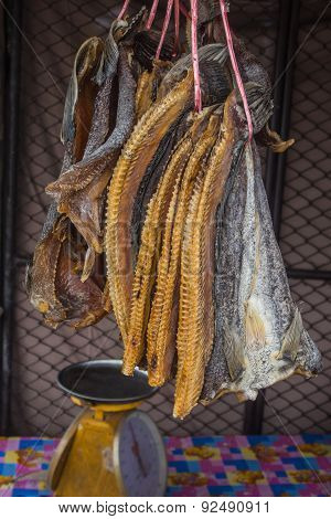 Snake-head Dried Fish