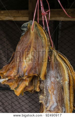 Snake-head Fish Dried