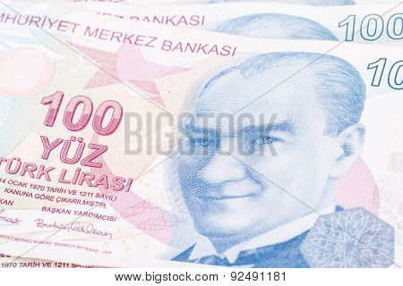 Turkish Lira Banknote