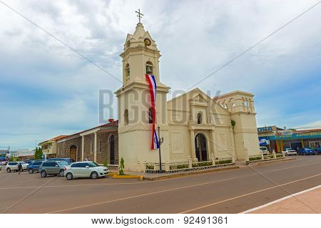 Penonome, Panama, The Church In Aguadulce, La Iglesia.