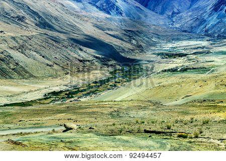 Mountains Of Ladakh, Jammu And Kashmir, India
