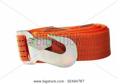 tow rope and large metal hook