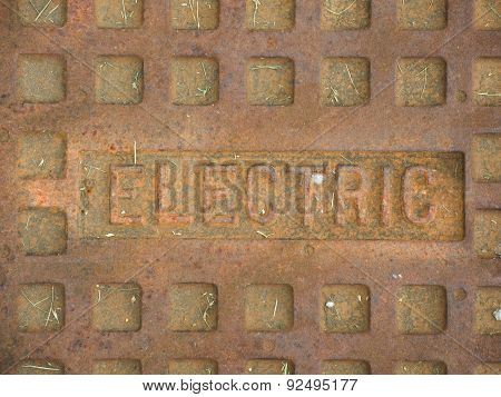 Electric Manhole Cover