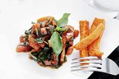 picture of soy sauce  - vegetable salad  - JPG