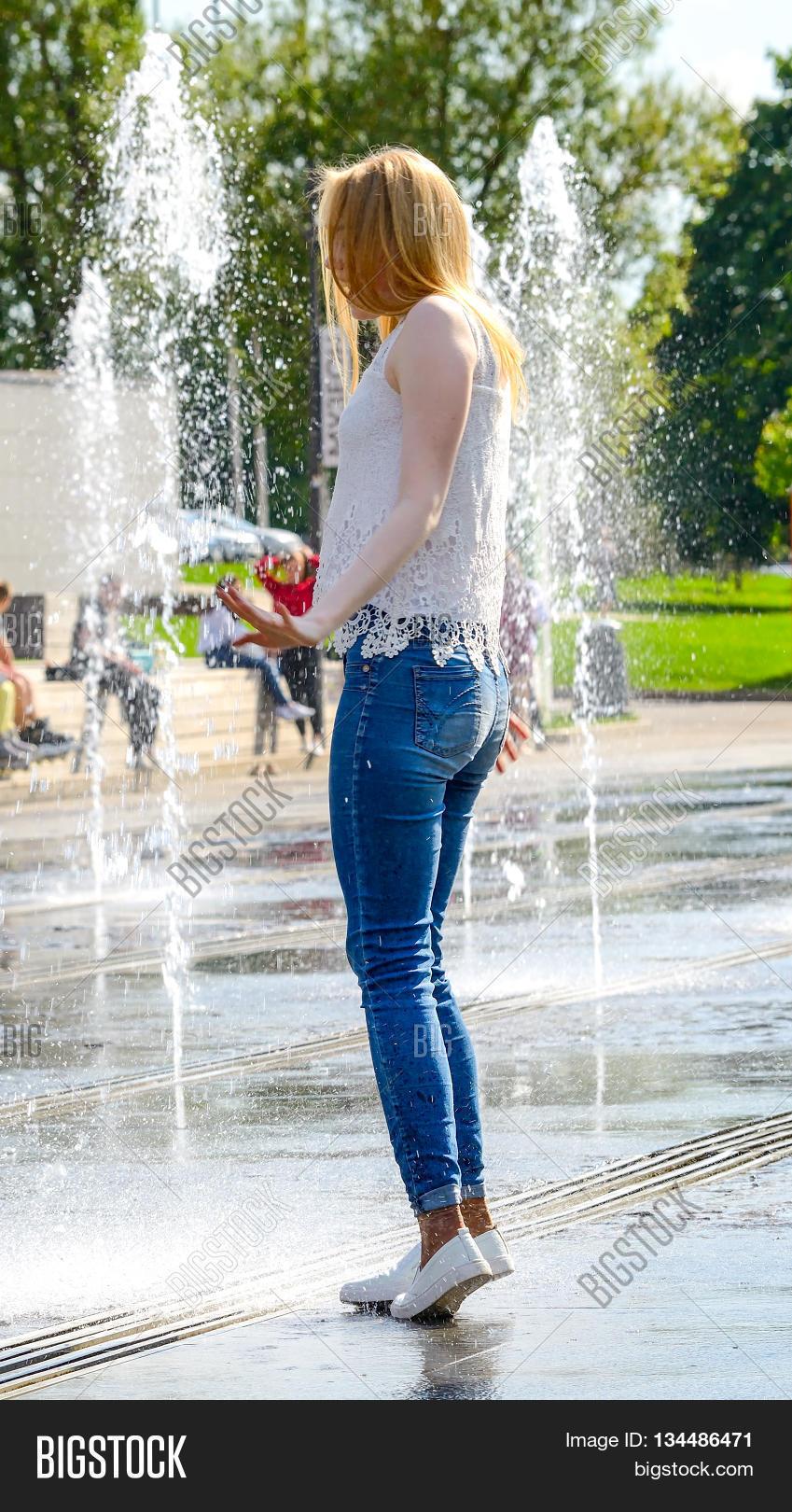 Jeans teen wet