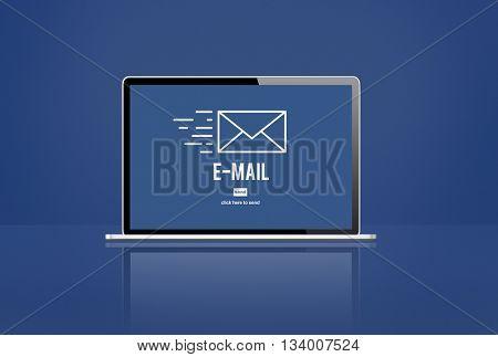 E-mail Envelope Correspondence Data Concept