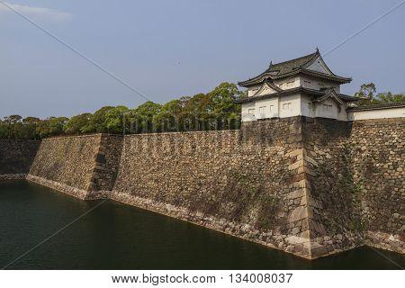Historical park - Sunpujo Park at Shizuoka Shizuoka Prefecture