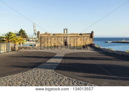Castillo De San Jose In Arrecife