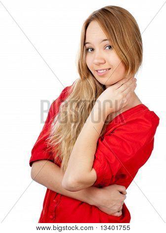 Shy Teenage Girl
