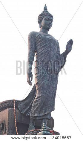 Buddha Statue At Phutthamonthon