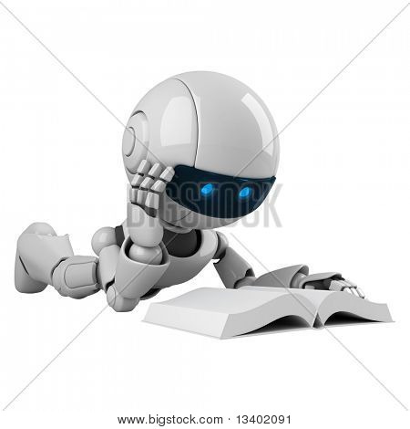Funny robot read