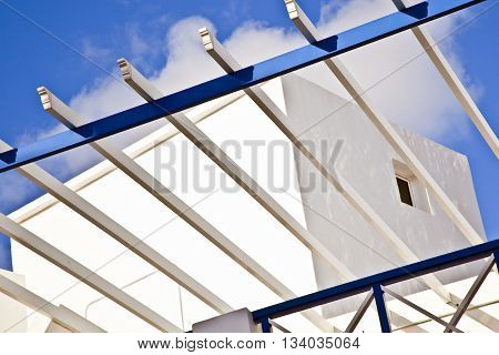 Balcony Under Blue Sky