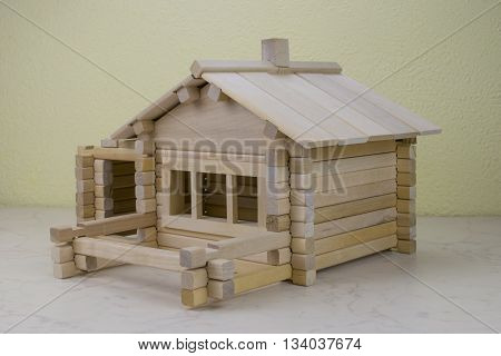wooden house from the children's designer Birch