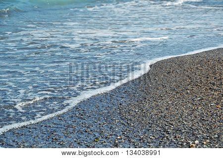 Sea Beach Blue Waves Ocean Sand Shells Summer 2
