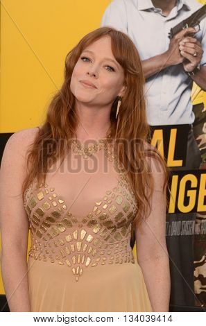 LOS ANGELES - JUN 10:  Aja Warren at the Central Intelligence Los Angeles Premiere at the Village Theater on June 10, 2016 in Westwood, CA