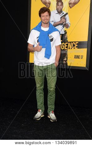 LOS ANGELES - JUN 10:  Anders Holm at the Central Intelligence Los Angeles Premiere at the Village Theater on June 10, 2016 in Westwood, CA